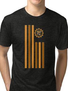Tiger - Flag Tri-blend T-Shirt