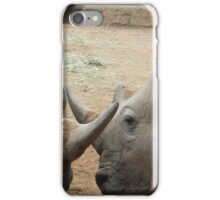 Rhino Horn by Horn iPhone Case/Skin