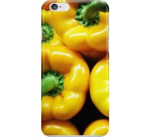Yellow Peppers iPhone Case/Skin