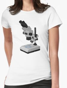 The Microscope Womens Fitted T-Shirt