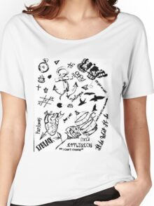 Larry Stylinson tattoos Women's Relaxed Fit T-Shirt