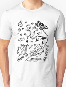 Larry Stylinson tattoos T-Shirt