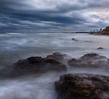 """High Tide"",Anglesea,Great Ocean Road,Australia. by Darryl Fowler"