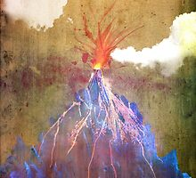 Abstract volcano eruption by mikath