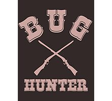 BUG HUNTER - Brown Western Style Test Engineer Shirt Photographic Print