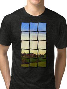 Peaceful autumn scenery | landscape photography Tri-blend T-Shirt