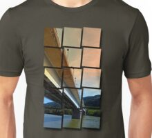 Danube river bridge | architectural photography Unisex T-Shirt