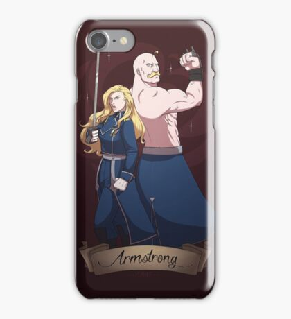 The Armstrong Siblings iPhone Case/Skin