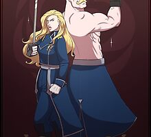 The Armstrong Siblings by rspanner