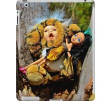 Tiger Doll with Emo Barbie iPad Case/Skin