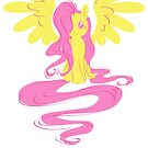 Fluttershy Simple by DawnAllies