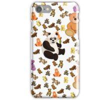 Teddy Bears Bears Bears Kids Duvet Cover iPhone Case/Skin