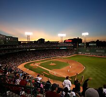 Dusk at Fenway Park by artbylisa