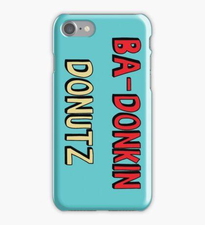Ba-Donkin Donuts iPhone Case/Skin