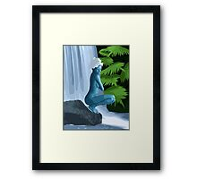 Lair Of The Nymph Framed Print