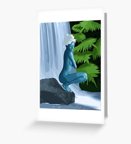 Lair Of The Nymph Greeting Card