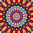 Fractal Art Kaleidoscope Images by Scott Bricker by Scott Bricker