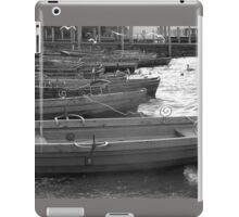 BOATS ON THE LAKE AT KESWICK ENGLAND iPad Case/Skin