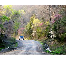 On The Road To Spring Photographic Print