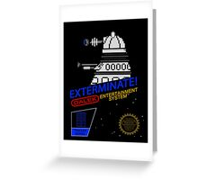 NINTENDO: NES EXTERMINATE! Greeting Card