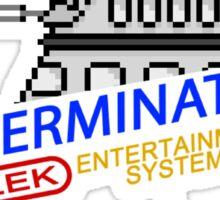 NINTENDO: NES EXTERMINATE! Sticker