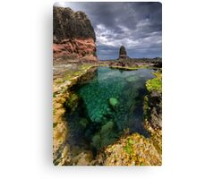 Pulpit Rock Pool Canvas Print