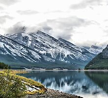 A Beautiful Lake in Kananaskis Country by Vickie Emms