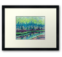 Madison River Framed Print