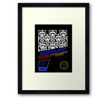 NINTENDO: NES ASSIMILATE! Framed Print