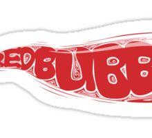 Redbubble Bubble Tee Sticker