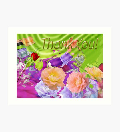Thank You for over 10K visitors Art Print