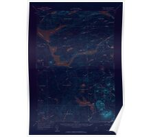 Maine USGS Historical Map Telos Lake 306809 1957 62500 Inversion Poster