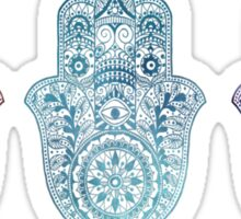Triple Mini Hamsa Sticker