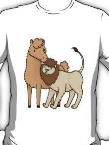 Lion and Llama T-Shirt