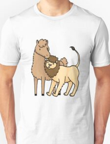 Lion and Llama T-Shirt