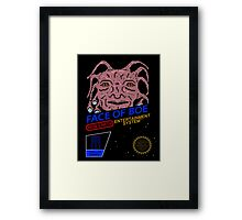 NINTENDO: NES Face Of Boe Framed Print