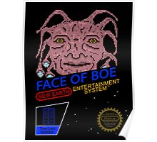 NINTENDO: NES Face Of Boe Poster
