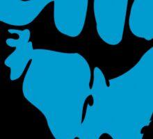 blue blooded democrat Sticker