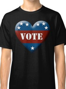 vote heart Classic T-Shirt