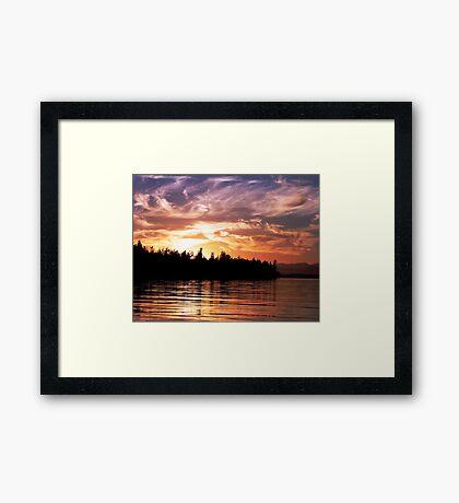 Painted Sky (1) Framed Print