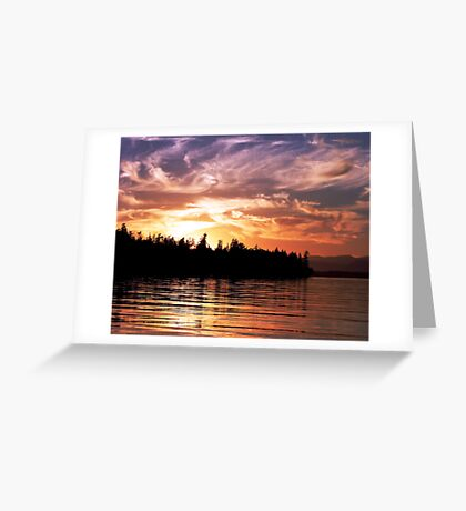 Painted Sky (1) Greeting Card