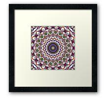 'KaliFract 104' Framed Print
