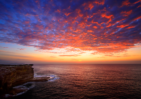 Streaming to the Dawn by Geoff  Coleman - Landscapes