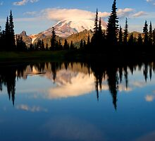 Mountain Mirror by DawsonImages