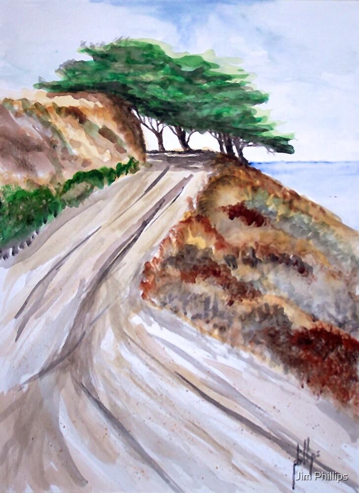 Old Hillside Road by Jim Phillips