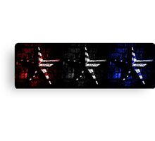 Contrasted Americana Canvas Print