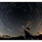 Star Trail - Mountnessing Windmill by Peter Barrett
