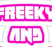 Die Antwoord - I Fink U Freeky Sticker