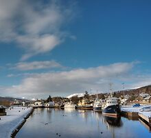 Caledonian Canal, Scotland by AlbaPhotography
