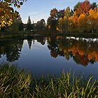 Dawson Creek Park by Randy Richards